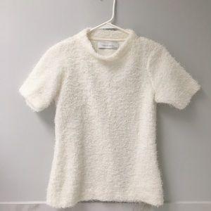 NWOT Zara white sweater top size M